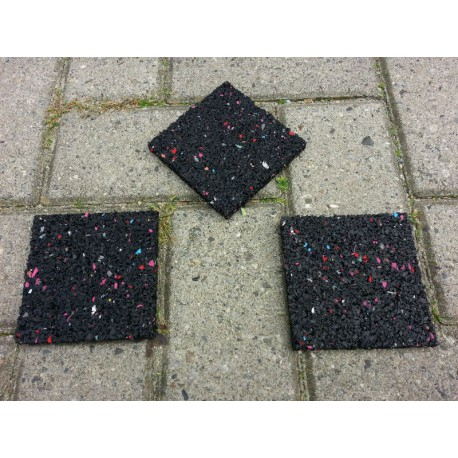 Tegeldragers 10x10x1 cm